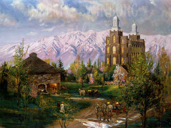 The House of the Lord Giclée Print