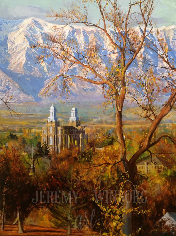 Cache Valley Autumn Giclée Print
