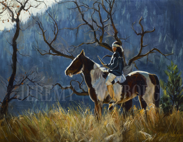 Blue Ridge Solace Giclée Print