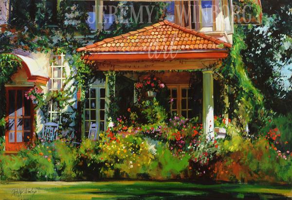 Summer Porch Giclée Print