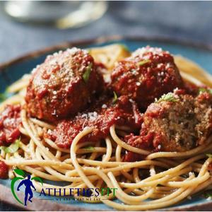 Little Italy - Turkey Meatballs in sauce and Pasta