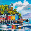 Arriving, Tobermory (Extra Large)