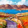 Approaching Barra by Daniel Campbell - Large
