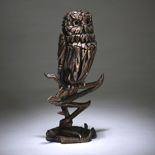 Owl (Golden) - Edge Sculpture