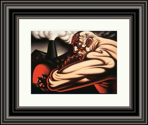 Steam and Power by Peter Howson