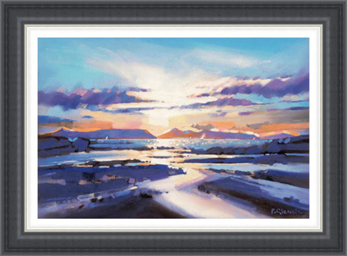 Coastal Sunset, Arisaig - Extra Large