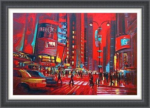 New York in Red (Extra Large)