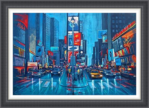 New York in Blue (Extra Large)