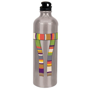 Doctor Who Fourth Doctor Scarf Water Bottle