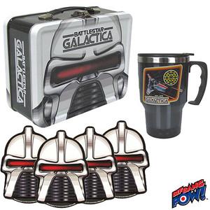 Battlestar Galactica Cylon Tin Tote Gift Set