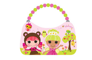 Lalaloopsy Scoop Purse - Light Pink