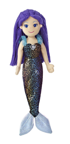 Sea Sparkles Mermaid Dellora 17-Inch Doll