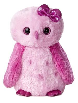 Girlz Nation Pink Snowy Owl 11.5-Inch Plush