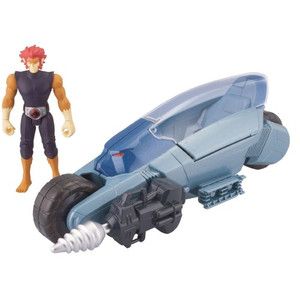 ThunderCats Basic Vehicle ThunderRacer with Lion-O Action Figure