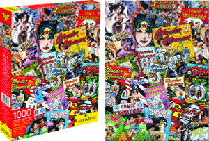 Wonder Woman DC Comics Collage 1,000-Piece Puzzle