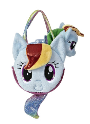 My Little Pony Rainbow Dash Carrier with 6.5-Inch Plush