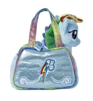 My Little Pony Rainbow Dash Cutie Mark Carrier with 6.5-Inch Plush