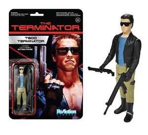 Terminator T-800 Leather Jacket ReAction 3 3/4-Inch Retro Figure