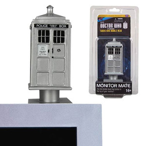 Doctor Who 50th Anniversary TARDIS Monitor Mate Bobble Head