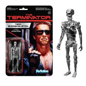 Terminator Chrome T-800 ReAction 3 3/4-Inch Retro Action Figure