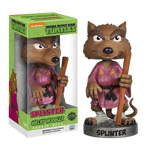 Teenage Mutant Ninja Turtles Splinter Bobble Head