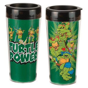 Teenage Mutant Ninja Turtles 16 oz. Plastic Travel Mug