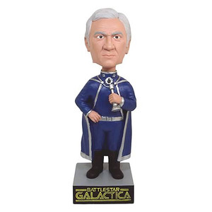 Battlestar Galactica Commander Adama Bobble Head