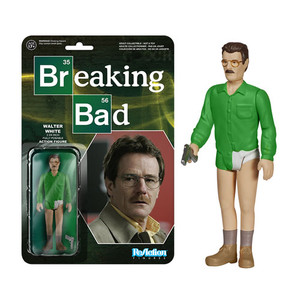 Breaking Bad Walter White ReAction 3 3/4-Inch Retro Action Figure