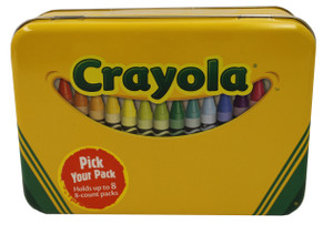 Crayola Crayon Large Storage Tin Box