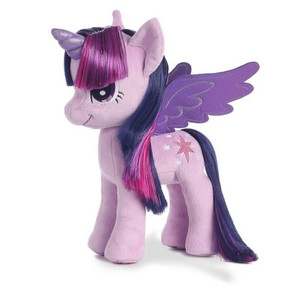 My Little Pony Princess Twilight Sparkle w/Shimmery Hair 13-Inch Plush