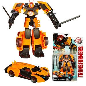 Transformers Robots in Disguise Warrior Drift