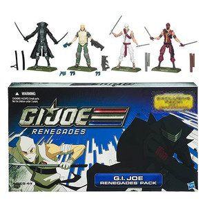 G.I. Joe Renegades Pack Action Figures