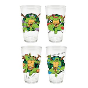 Teenage Mutant Ninja Turtles 16 oz. Pint Glass 4-Pack