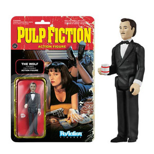 Pulp Fiction The Wolf ReAction 3 3/4-Inch Retro Action Figure