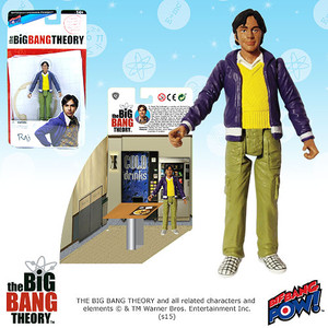 The Big Bang Theory Raj 3 3/4-Inch Action Figure Series 1