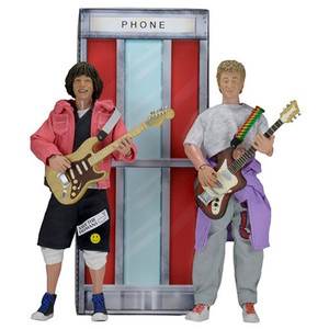 Bill & Ted's Excellent Adventure 8-Inch Retro Action Figure 2-Pack