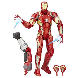Captain America Civil War Marvel Legends Movie Iron Man Mark 46 Figure