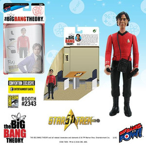 The Big Bang Theory Star Trek Raj 3 3/4-Inch Figure
