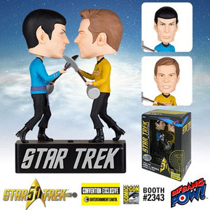 Star Trek: The Original Series Amok Time Kirk vs. Spock Bobble Heads