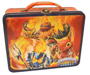 Skylanders Orange Embossed Large Lunch Box