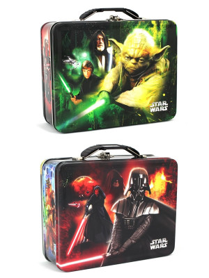Star Wars Light Side Dark Side Embossed Lunch Box