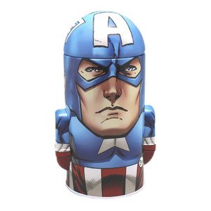 Avengers Captain America Tin Coin Bank