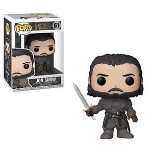 Game of Thrones Jon Snow Beyond the Wall Pop! Vinyl Figure #49