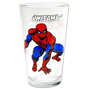 Spider-Man Glass Toon Tumbler