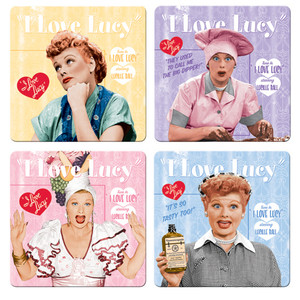I Love Lucy Coaster 4-Pack