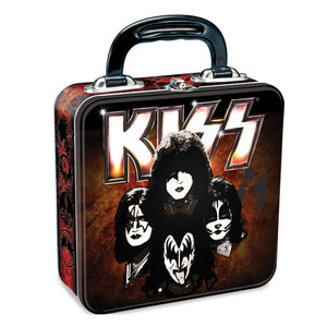 Kiss Square Tin Tote