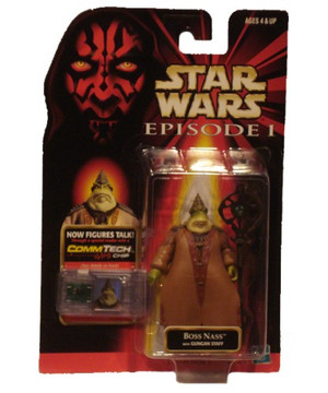 Star Wars Episode I: Boss Nass Figure