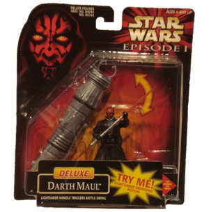 Star Wars Episode I: Deluxe Darth Maul Figure