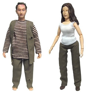 Lost Ben Linus and Kate Austen 8-Inch Action Figures