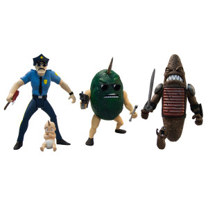 Axe Cop 4-Inch Series 1 Action Figure Set